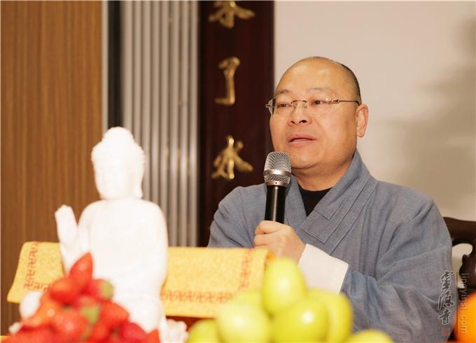 Tempel Lingyin - Nachrichten - Veranstaltung zur Begrüßung des neuen ...